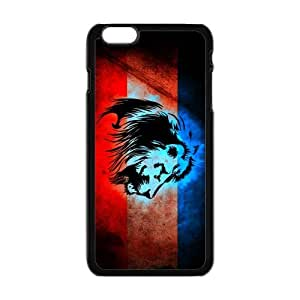The King Lion Case Cover for Personalized Case for Personalized iphone 6 (Laser Technology) Screen iPhone Strong Protect Case-05