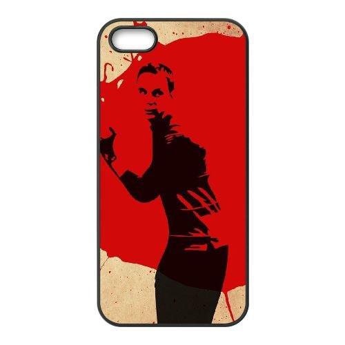Bazinga 002 coque iPhone 4 4S cellulaire cas coque de téléphone cas téléphone cellulaire noir couvercle EEEXLKNBC23439