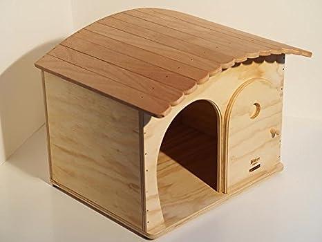 Novedad Blitzen, caseta, GinaBig Indoor para gatos de Grossa Talla y perros Pequeño Talla con tejado tiragraffi.: Amazon.es: Jardín