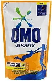 Sabão Líquido Refil OMO Sports 900 mL, OMO, 900Ml