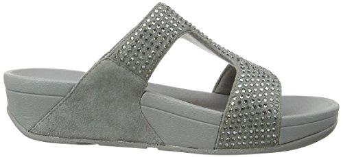 Nova para Rokkit Silver Slide Vestir Fitflop de Sandalias Silber Mujer 4RfzOq