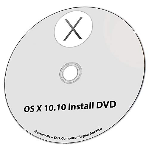 - Mac OS X 10.10 Yosemite Full OS Install - Reinstall/Recovery Upgrade Downgrade/Repair Utility Factory Reset Disc CD DVD Drive Tool Disk