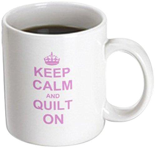 3dRose mug 157760 3 Quilting Humorous Transforming
