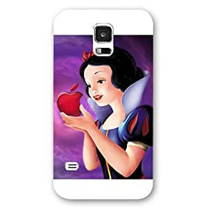 Customized White Hard Plastic Disney Cartoon Snow White Samsung Galaxy S5 Case