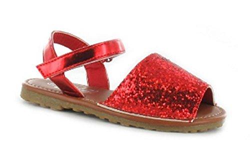 Ella - Sandalias de vestir de Material Sintético para niña Red (Infant)