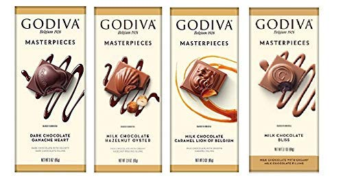 Godiva Masterpieces - Great Gift Pack Of 8 Flavors, 2 Each