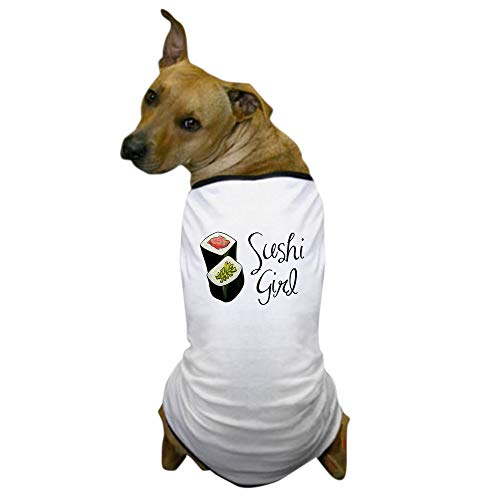 CafePress Sushi Girl Dog T Shirt Dog T-Shirt, Pet Clothing, Funny Dog Costume -