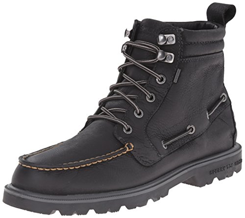 Sperry Top-Sider Men's Authentic Original Lug Boot WP Winter Boot, Black, 10.5 M - Chukka Authentic Original