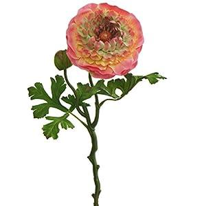 Lily Garden 6 Stems Silk Ranunculus Artificial Flowers 38