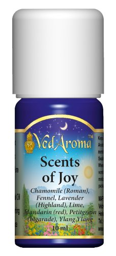 (VedAroma Scents of Joy Therapeutic Grade Essential Oil Blend 10ml)