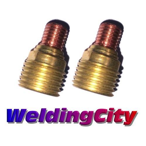 WeldingCity 2-pk Gas Lens Collet Body 45V44 (3/32