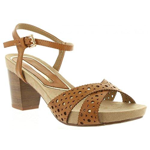 Sandalias de Mujer MARIA MARE 66172 C23926 BRUSH CUERO