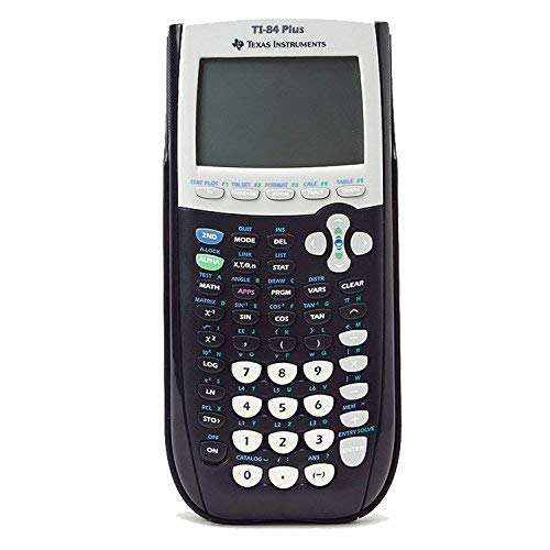 Texas Instruments Ti-84 plus Graphing calculator - Black (Renewed) by Texas Instruments