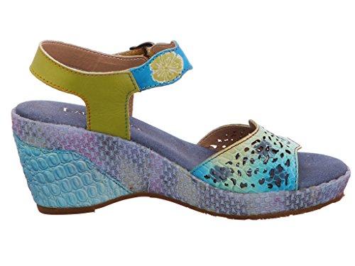 Pour Beaute Sandales 02 Laura Vita Bleu Femme I4UHxnaqw