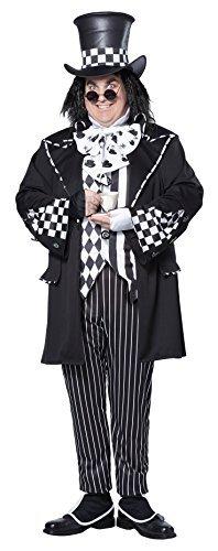 [Dark Mad Hatter Fancy Dress Costume (Plus Size) by California Costume] (Plus Size Dark Mad Hatter Costume)
