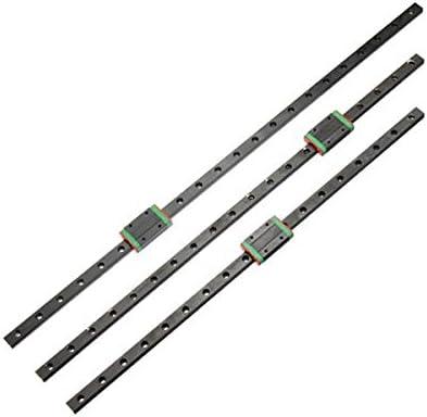 550mm Length CNC 3D Printer MGN12H Black Block Linear Rail Guide Slide 400