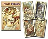 Party Games Accessories Halloween Séance Tarot Cards Tarot Mucha by Massaylia & Dosenzo