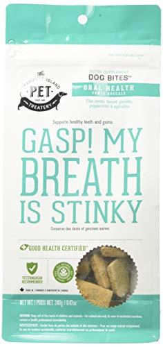 (Granville Island Pet Treatery Oral Health Nutra Bites, 8.47 Ounces, Fresh Breath Dog)
