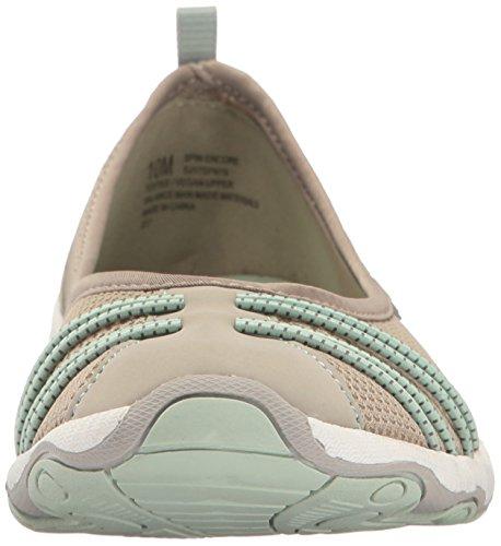 cheap sale best discount best store to get JSport by Jambu Women's Spin Encore Ballet Flat Light Grey/Light Aqua cheap sale for nice yf9qJvL