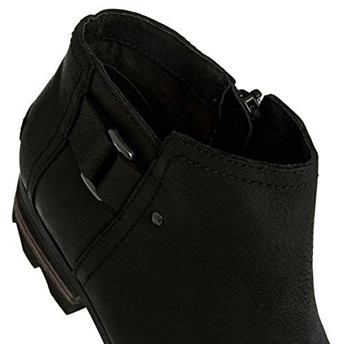 Sorel Damen Stiefelette Lolla Ankle NL2267 Black, Quarry 38