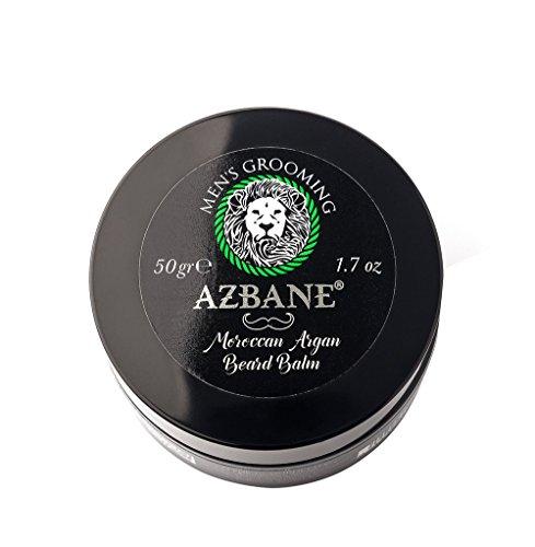 Azbane Moroccan Argan Beard Balm 50 Gr - 1.7 Oz