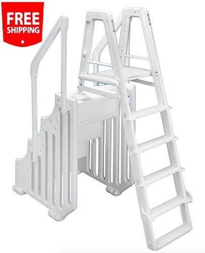 Groovy Amazon Com 38 Mighty Step Ladder Set Aboveground Creativecarmelina Interior Chair Design Creativecarmelinacom