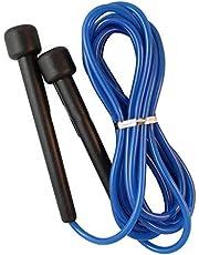 حبل قفز طويل قابل للتعديل للملاكمة - صالة الالعاب الرياضية - القفز - تمرين السرعة - التمارين الرياضية - تمارين اللياقة البدنية، لون ازرق موديل (BTT-10)
