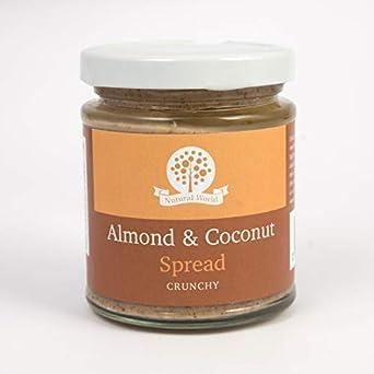 Nutural World - Aderezo suave de almendra y coco (170) Galardonado al mejor saborwinner: Amazon.es: Alimentación y bebidas