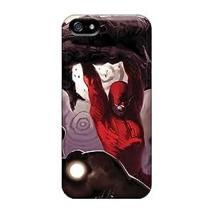 High Grade BrandonSabado Flexible Tpu Case For Iphone 5/5s - Daredevil I4