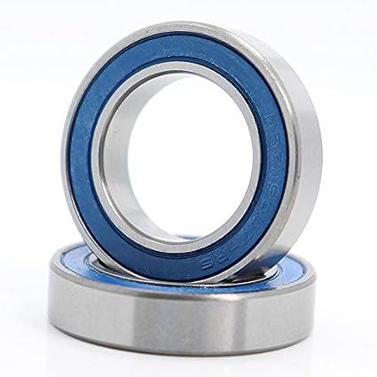 19.05x31x7mm Chromium Steel Direct Press Dust Seal 19317 2RS Ball Bearing Pick of 2Pcs 1905317 MR31190-RS LLB Bearings for Bottom Bracket,