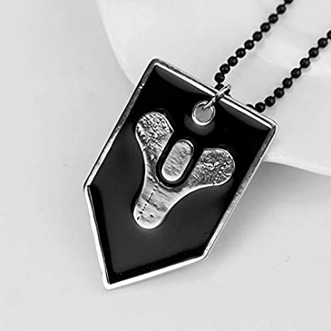 Amazon.com: FITIONS - PS4 Game Destiny Fate Necklace HUNTER ...