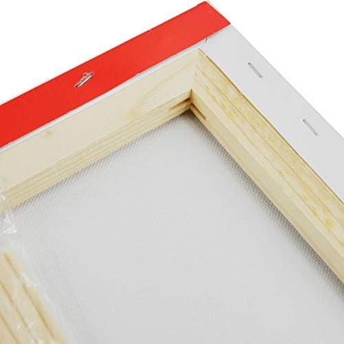 Leinwand Rahmen bespannt aus 100/% Baumwolle Meister- Bespannter Keilrahmen 60x80 cm