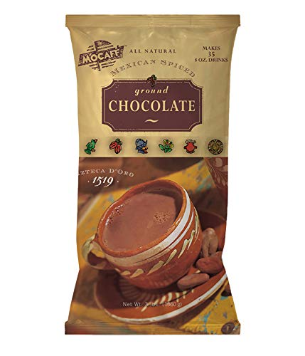Mocafe Azteca D'oro 1519 Mexican Spiced Ground Chocolate, 3-Pound Bag