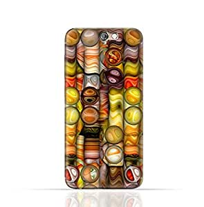 HTC ONE A9 TPU Silicone Case with Abstract Bubble Background