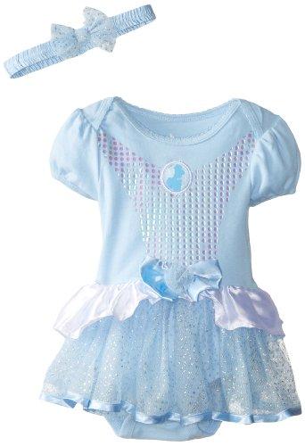 Disney Girls Cinderella Bodysuit Headband