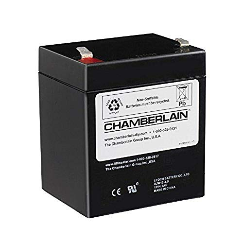 Chamberlain / LiftMaster / Craftsman 4228 Replacement Battery for Battery Backup Equipped Garage Door ()