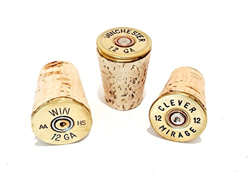 Wine Stopper Corks 12 gauge Brass Gun Ammo Bullet Shotgun Shell Party Barware Household Gift