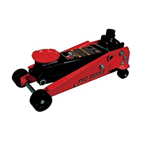 Torin Big Red Pro Series Hydraulic Floor Jack: Single Piston Pump, 3 Ton Capacity