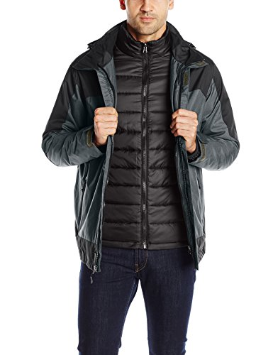 Melange 3 1 Black in Weatherproof Charcoal Men's Jacket Systems 32Degrees WPqA4n8