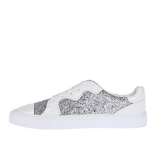 Tory Burch Milo Sneakers, Silver/White ()