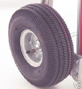 Hand Truck Replacement Wheels - Pneumatic, Pack of 2