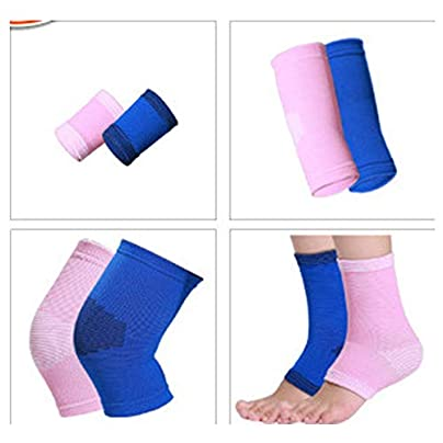 LYLTJ68 Sports Protective Gear Set Children s Knee Support Wristband Elbow Brace Ankle Set Warm Shatter-resistant for Crawling Dancing Basketball Skating Estimated Price £29.50 -