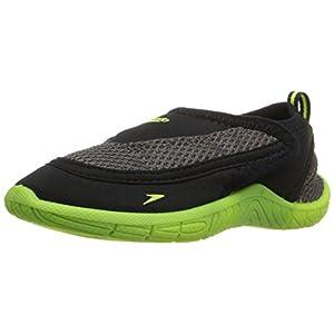 Speedo Surfwalker Pro 2.0 Water Shoes (Toddler), Black/Yellow, 8/9 US Toddler