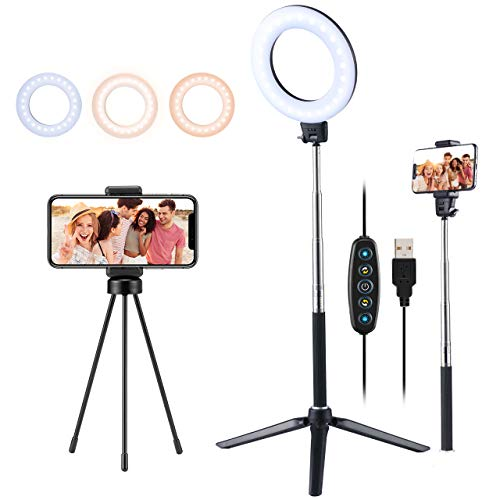 VicTsing Ring Light luce TikTok 6.3