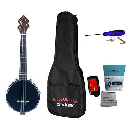 non-brand MagiDeal 26 Pulgadas 4 Banjo Ukulele Banjo Ukulele Allen Llave Accesorio para Regalo