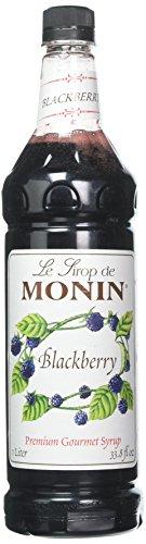 Blackberry Monin (Monin Flavored Syrup, Blackberry, 33.8-Ounce Plastic Bottle (1 liter))