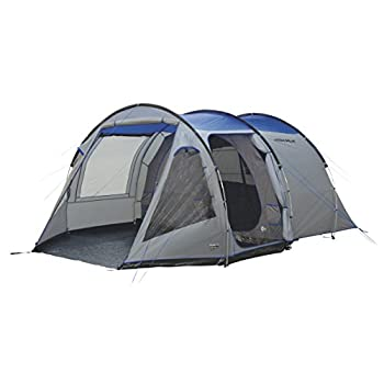 Image of Camping Shelters High Peak Unisex's Alghero 4 Tents, Grey/Blue, One Size