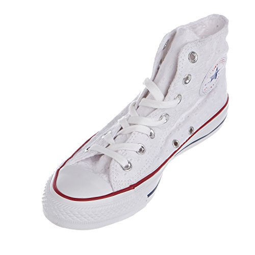 Trainers Converse Taylor Womens Chuck Star Garnet White Canvas All RRYUBnq