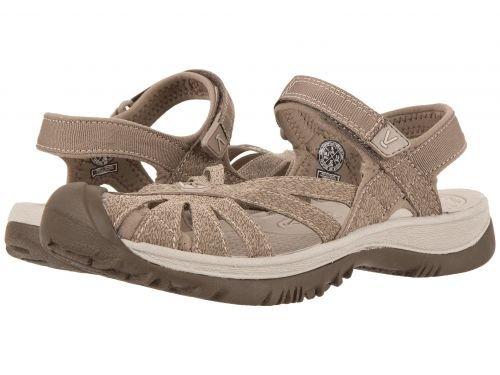 Keen(キーン) レディース 女性用 シューズ 靴 サンダル Rose Sandal - Brindle/Shitake [並行輸入品]