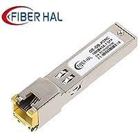 FiberHal for Ubiquiti Unifi Copper SFP Module, Gigabit RJ45 Mini-GBIC, 1000Base-T SFP Transceiver, Reach 100m